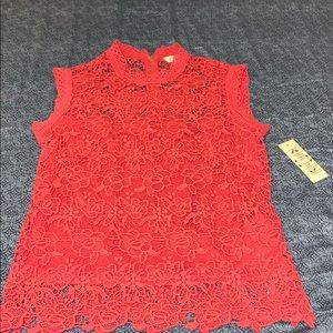 NANETTE Sexy lace NWT top MEDIUM MD boutique B